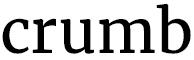 Crumb Dumfries